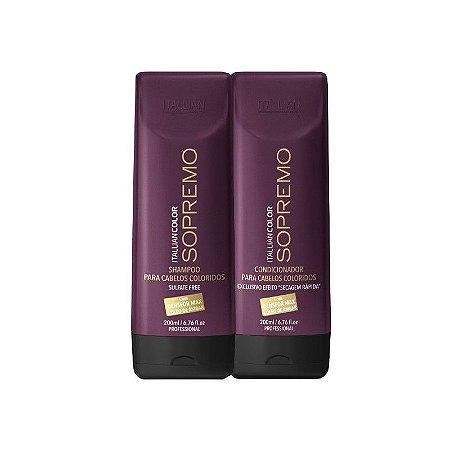 Itallian Color -  Sopremo Kit Shampoo e Condicionador Anti-age 200ml cada VENCE MAIO/2017