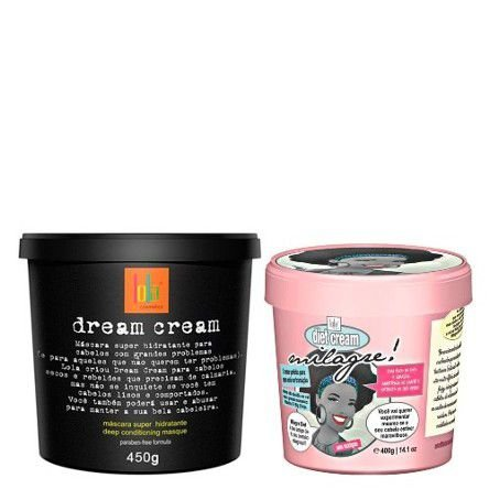 Lola Cosmetics - Kit Modelando Sonhos Dream Cream 450g + Milagre Diet 400g