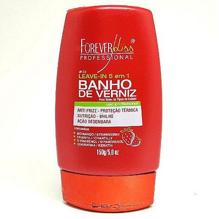 Forever Liss - Banho de Verniz Morango Leavein 150g
