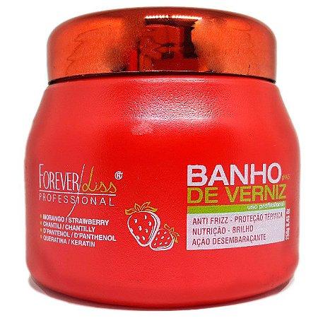 Forever Liss - Banho de Verniz Morango Máscara 250g
