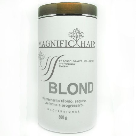 Magnific Hair - Pó Descolorante Branco Ultra Rápido 500g