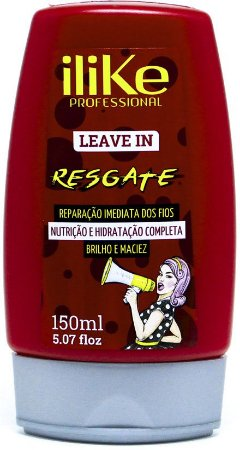 iLike Professional - Resgate Leave-in Reconstrução Intensa 200ml