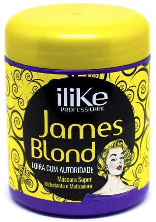 iLike Professional - James Blond Máscara Matizadora Hidratante 250g