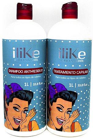 iLike Professional - Escova Progressiva 2 passos 1 litro cada