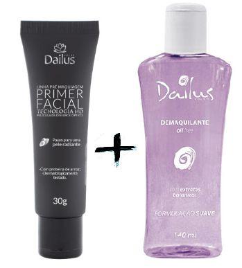 Dailus Color - Primer Facil 30g + Demaquilante Oil Free 140 ml