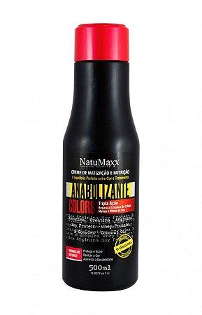 Natumaxx - Fortificante Anabol Capilar Matizador Vermelho Intenso Colors 500ml