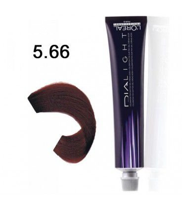 L'Oréal Professionnel - Dialight Tonalizante 5.66 Castanho Claro Vermelho Profundo 50ml Vence Dezembro 2017