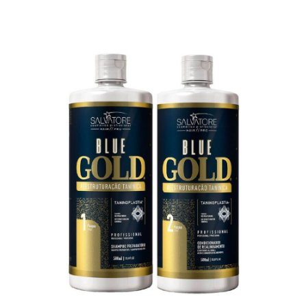 Blue Gold Progressiva Reestruturação Tanínica Salvatore 500ml