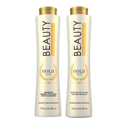 Beauty Impressive - Gold Plus Shampoo e Condicionador 1 litro cada