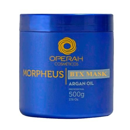 Operah Cosméticos - Morpheus Btx Mask Argan Oil 500g