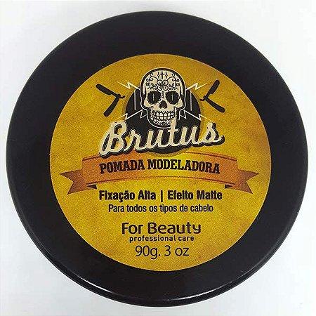 For Beauty - Brutus Pomada Modeladora Alta Fixação Matte 90g