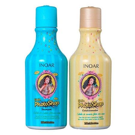 Inoar - Efeito Photoshop kit Shampoo e Condicionador 250ml cada