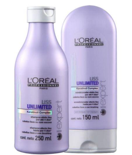 L' Oréal - Liss Unilimited Kit Shampoo 250ml + Condicionador 150ml