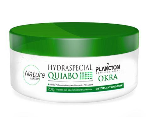Plancton - Máscara Hydraspecial de Quiabo OKRA Antioxidante 250g