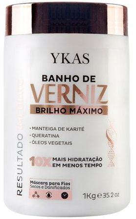 Ykas Hair Technology - Banho de Verniz Brilho Maximo 1 kg