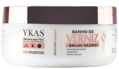 Ykas Hair Technology - Banho de Verniz Brilho Maximo 250g
