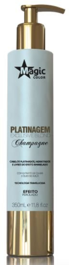 Magic Color - Platinagem Exclusive Blond Champagne Efeito Perolado 350ml - Validade 11/2018