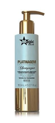Magic Color - Platinagem Exclusive Blond Champagne Efeito Perolado 150ml - Validade 12/2018