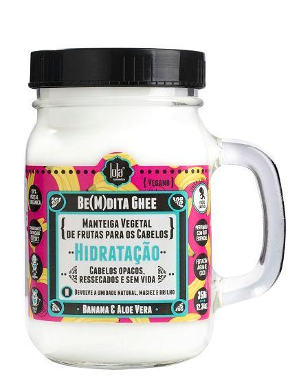 Lola Cosmetics - BeMdita Ghee Máscara de Hidratação 350g (Manteiga Vegetal de Frutas)