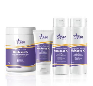 Magic Color - Noblesse K Kit Shampoo + Condicionador + Máscara 800g + Leave-in