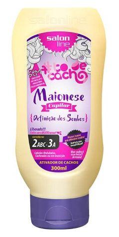 Salon Line - #TodeCacho Maionese Capilar Definição dos Sonhos 300g