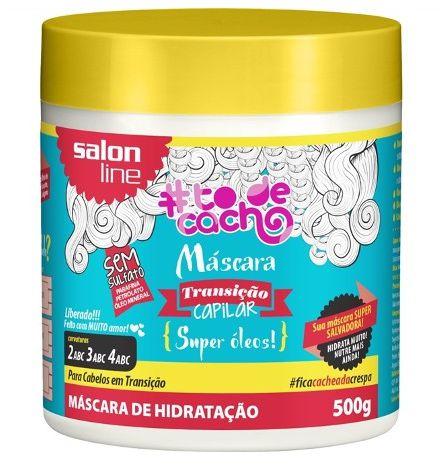 Salon Line - #TodeCacho Transição Capilar Máscara Super Óleos 500G