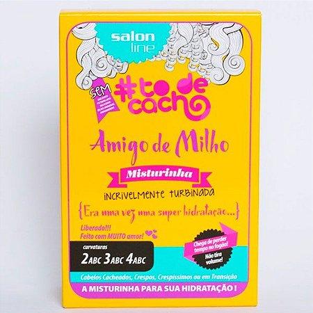 Salon Line - #TodeCacho Amigo de Milho Misturinha Incrivelmente Turbinada 4 Sachês 30ml cada