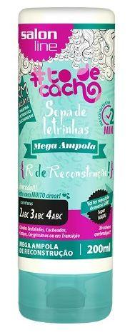Salon Line - #TodeCacho Mega Ampola R de Reconstrução 200ml