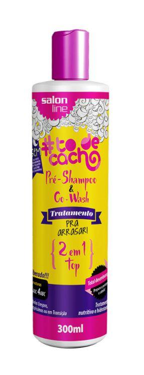 Salon Line - #TodeCacho Pra Arrasar 2 em 1 Pré-Shampoo e Co-Wash 300ml
