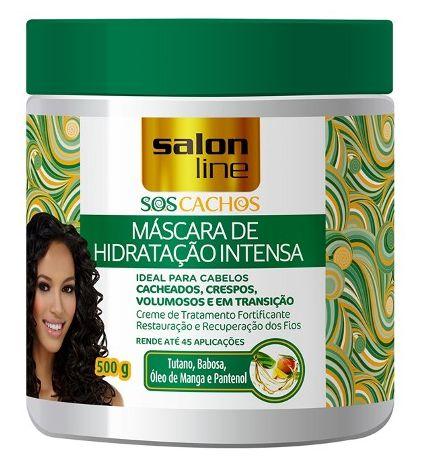 Salon Line - SOS Cachos Máscara de Hidratação Intensa 500g