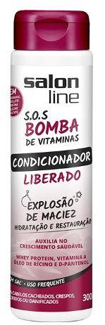 Salon Line - SOS Bomba de Vitaminas  Liberado Condicionador 300ml