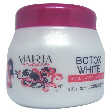 Maria Escandalosa - Beautox White Ojon, Macadâmia e Argan 250g