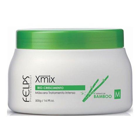 Felps - Xmix Bio Crescimento Máscara Extrato de Bamboo 500g