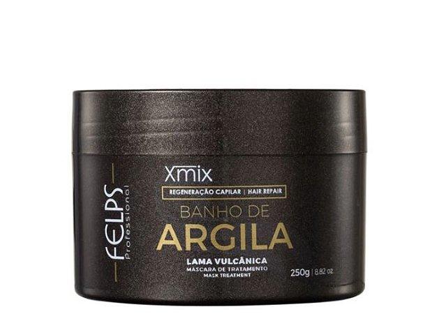 Felps - Xmix Banho de Argila Lama Vulcânica 250g