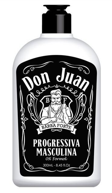 Barba Forte - Don Juan Progressiva Masculina 0% Formol 300ml