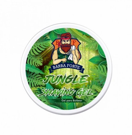 Barba Forte - Jungle Shaving Gel 500g