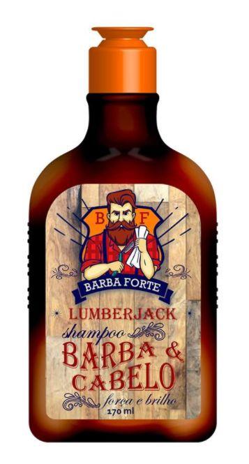 Barba Forte - Lumberjack Shampoo Barba e Cabelo 170ml