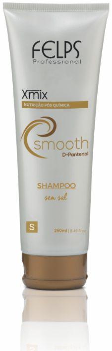 Felps - Xmix Smooth Nutrição Pós Química Shampoo Sem Sal 250ml