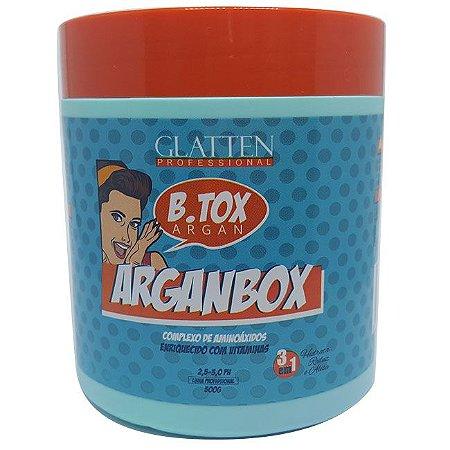 Glatten - Arganbox 500g Redutor de Volume Matizador 3 em 1