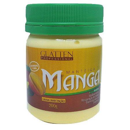 Glatten Professional - Manteiga de Manga Máscara 200g