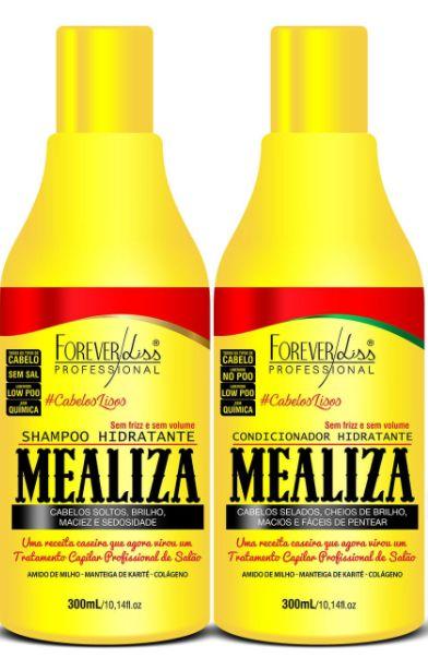 Forever Liss - Mealiza Shampoo Hidratante + Condicionador 300ml cada