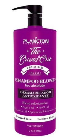 Plancton - Shampoo Blond Liso Absoluto The Grand Cru Desamarelador 1L