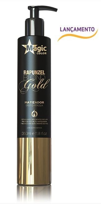 Magic Color - Rapunzel Blond Gold 350g Efeito Pérola
