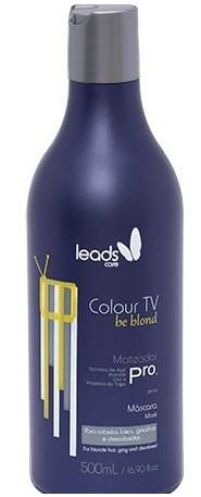 Leads Care - Colour TV Be Blond Máscara Matizadora 500g