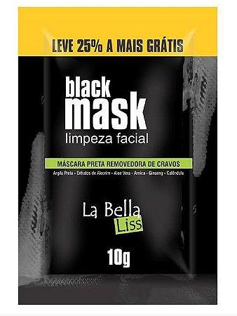 La Bella Liss - Black Mask Máscara Preta Removedora de Cravos 10g