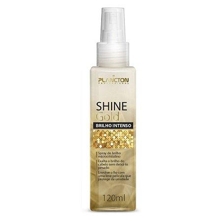 Plancton - Shine Gold Spray de Brilho Dourado Intenso 120ml
