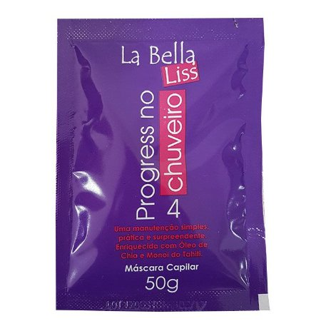 La Bella Liss - Escova Progressiva No Chuveiro Sachê 50ml