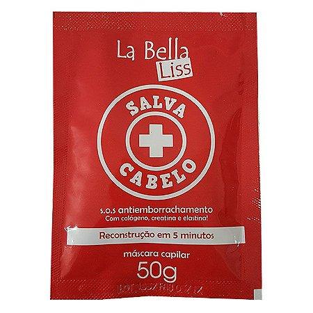 La Bella Liss - Salva Cabelo SOS Sachê 50ml Antiemborrachamento
