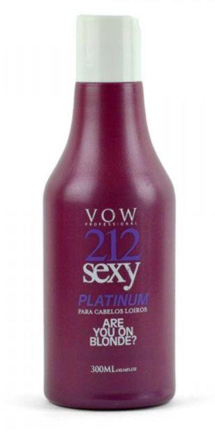 Vow Professional - 212 Sexy Platinum Máscara Matizadora 300ml