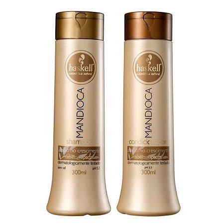 Haskell - Mandioca Kit Shampoo + Condicionador 2x300ml